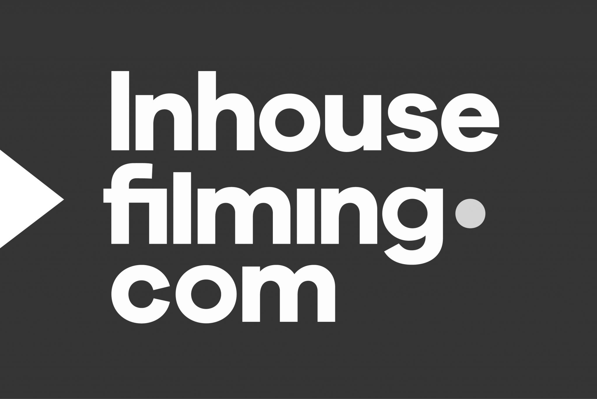 In house filming logo